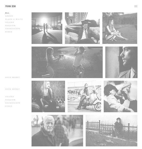 Bow – Clean Photography Portfolio Theme