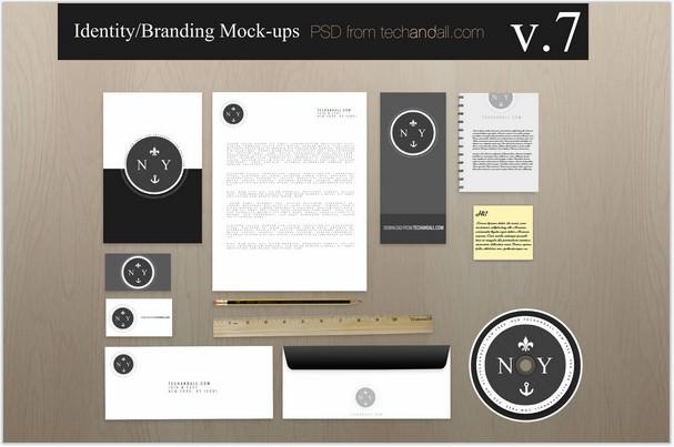 Branding Identity Mock-up v7