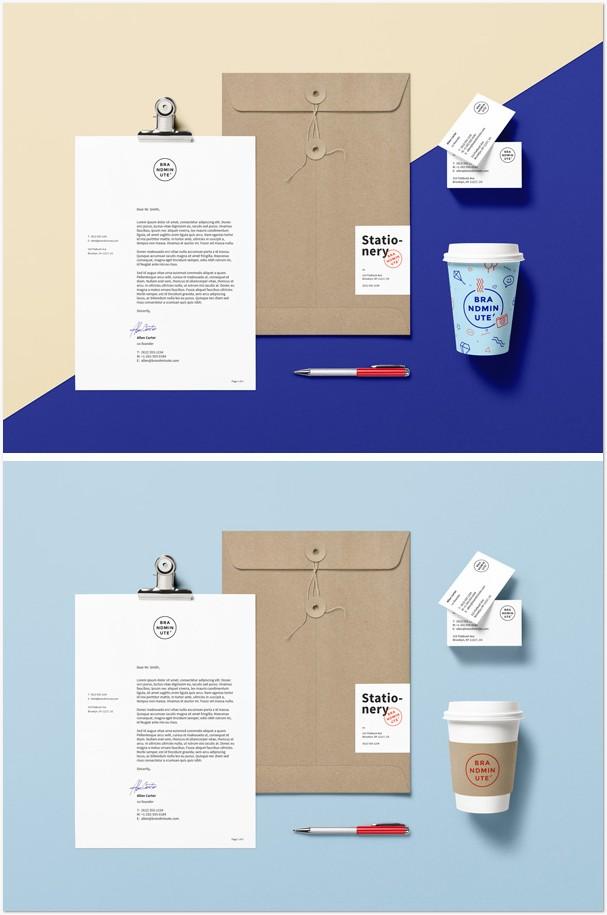 Branding / Identity MockUp Vol.15