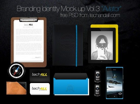 Branding Identity Mockup Vol3 – Aviator