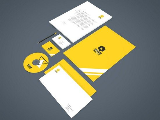 Branding-Stationery Mockup Vol.2
