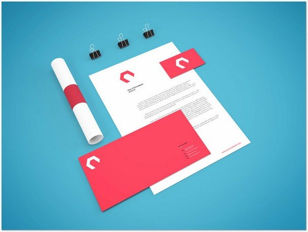 Branding Stationery Mockup Vol.7