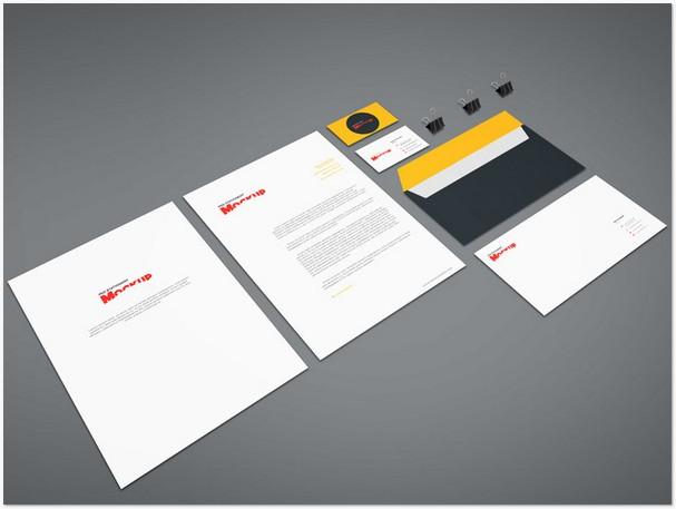 Branding Stationery Mockup Vol.8
