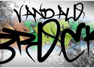 Graffiti font