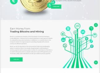 BitcoinWebsite Template