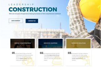 Construction HTML5 Website Template