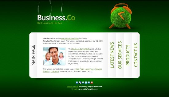 Business – Free Consulting Website Template