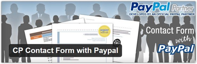 CP Contact Form with Paypal