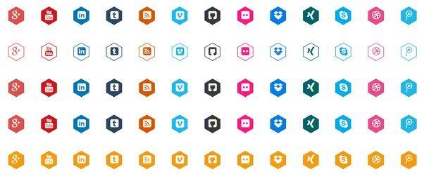 CSS3 Hexagon Buttons