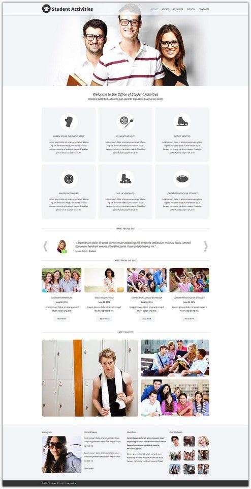 Campus Fun Board Joomla Template