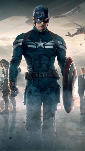 Captain America avenger Iphone pic