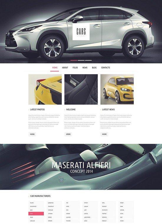 Car Passion WordPress Theme