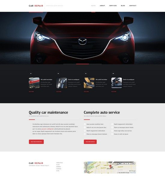 Car Repair Responsive WordPress Theme