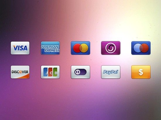Card Payment Icons