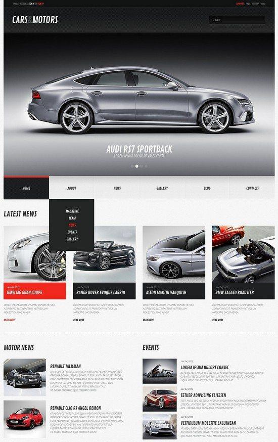 Cars & Motors WordPress Theme