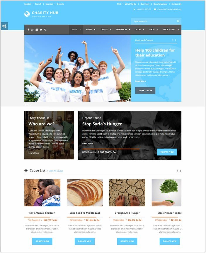 Charity Hub - Charity Nonprofit PHP