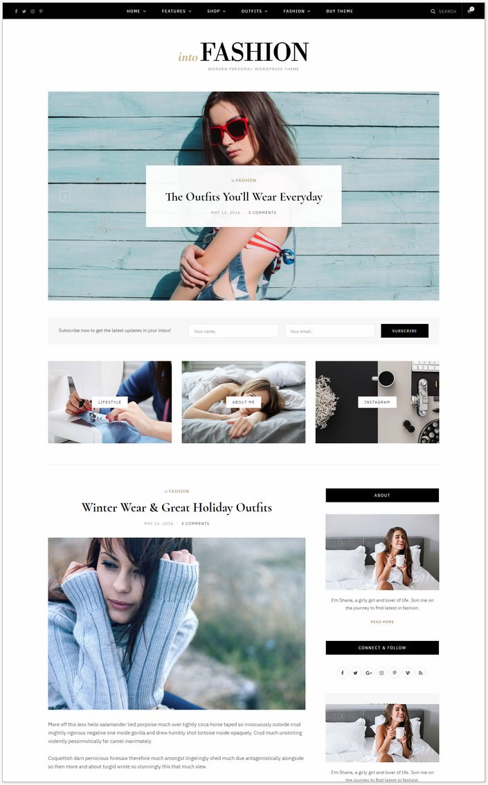CheerUp WordPress PHP Theme