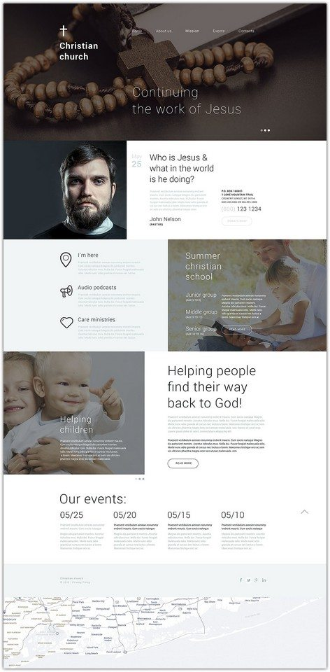 Christian Shelter Drupal Template