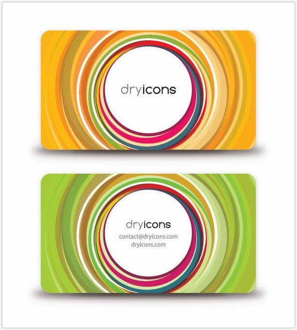 Circular Business Card by Designworldwide