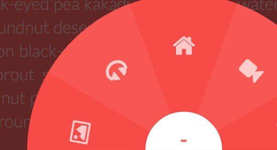 Circular Navigation with CSS Transforms