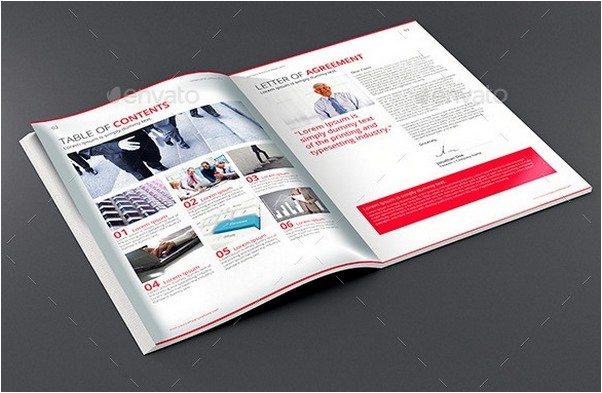 Clean Corporate Brochure Template