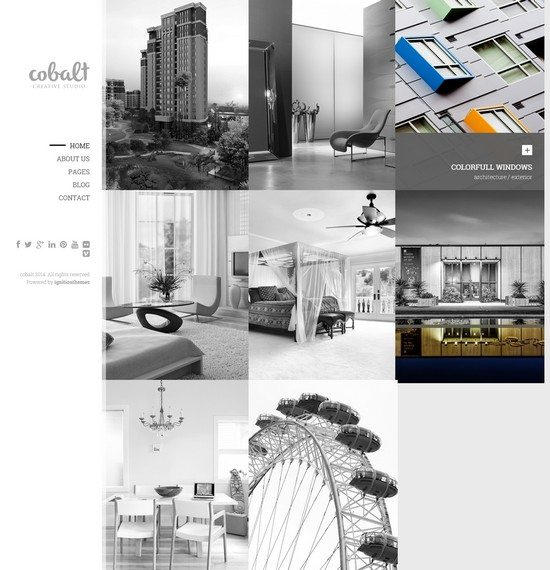 Cobalt - Responsive Architect & Creatives Theme