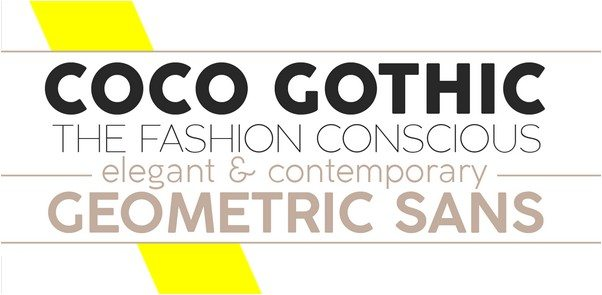 Coco Gothic Font