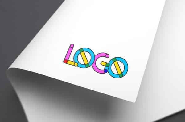 Colorful Logo MockUp
