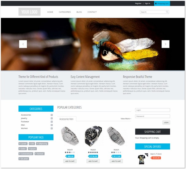 Commerce Theme