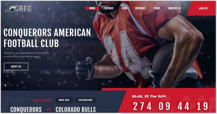Conquerors American Football Club