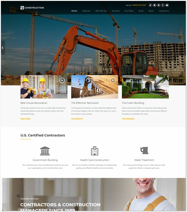 Construction - Construction, Building Business