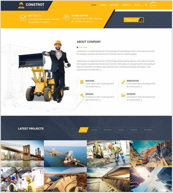Construction - Construction Template