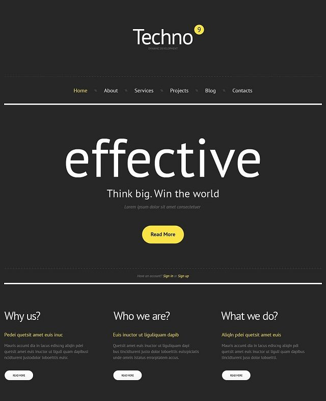 Consulting Agency WordPress Themes
