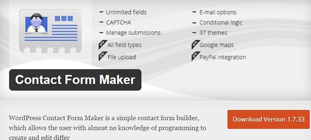 Contact Form Maker free
