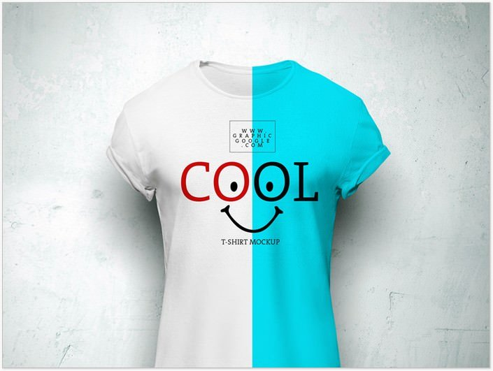 Cool T-Shirt MockUp For Branding