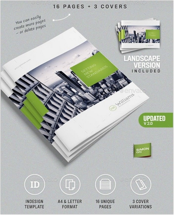 Corporate Business Brochure 16 pages