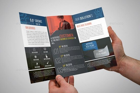 Corporate Trifold Brochure - 07