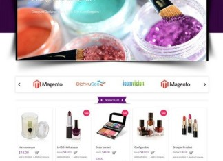 Cosmetic Store Magento Theme