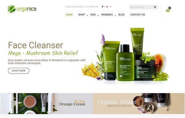 Cosmetics Magento Organica Theme-18645156463