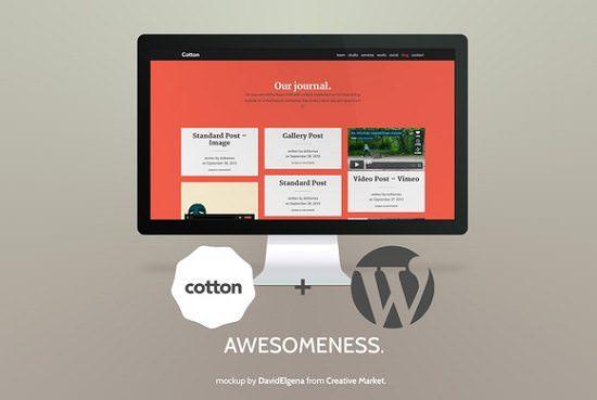 Cotton WordPress – Bootstrap 3.0