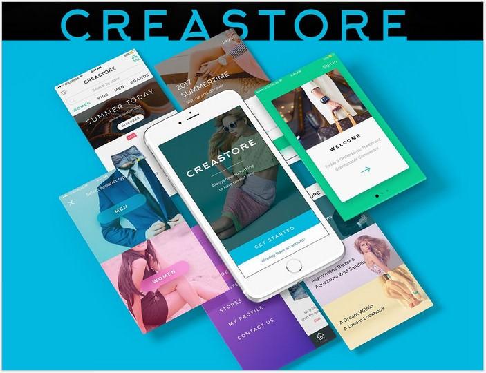 Creastore UI kit