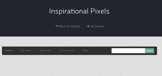 Creating a Responsive Menu with HTML, CSS & jQuery