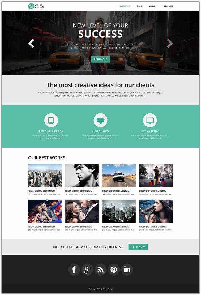 Creative Project WordPress Theme (2)