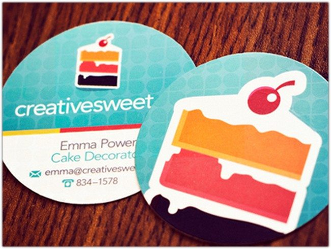 Creative Sweet Business Cards