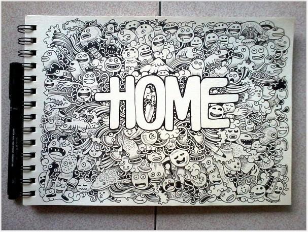 DOODLE ART HOME