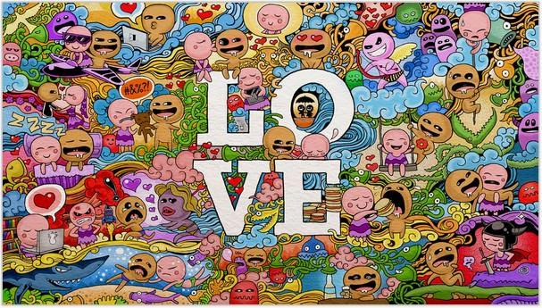 DOODLE ART LOVE Doodles