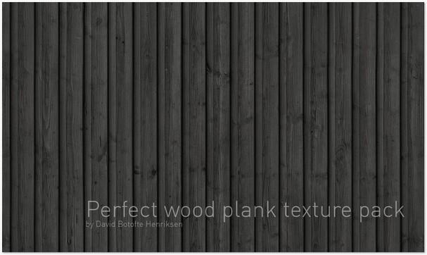Dark Wood Planks Texture
