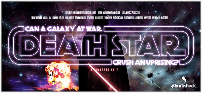 Death Star Font - by sharkshock