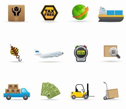 Delivery-Icon-Vector-Set