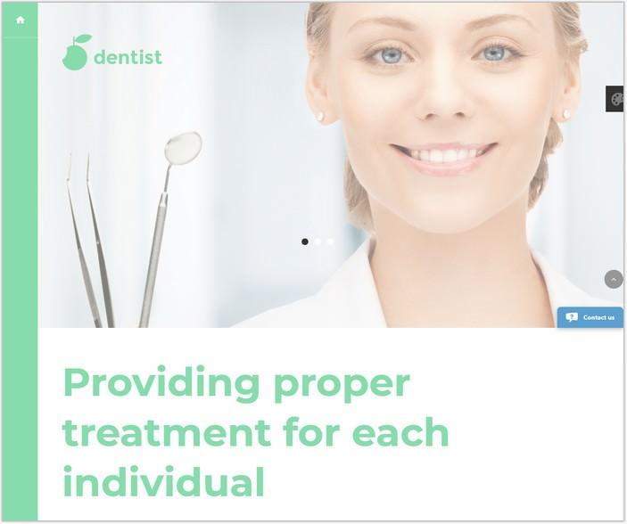 Dentist PHP Joomla Template